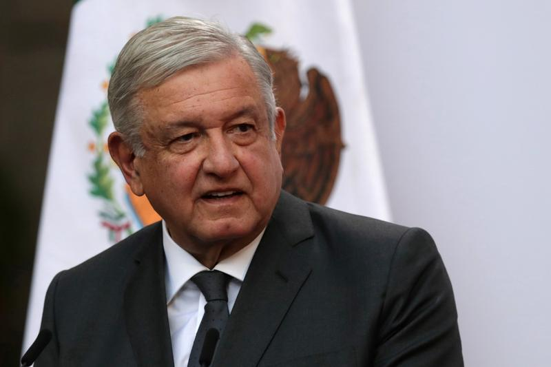 mexico s president andres manuel lopez obrador addresses to the nation on his second anniversary as the president of mexico at the national palace in mexico city mexico photo reuters