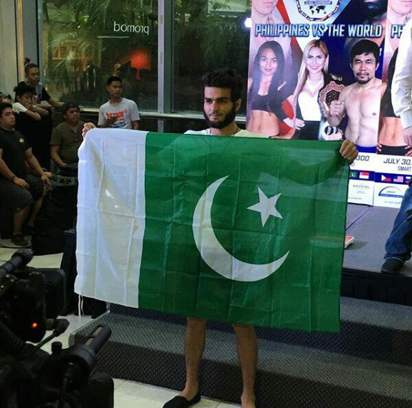 i will only fight for pakistan says mma star ahmed mujtaba