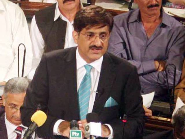 sindh chief minister syed murad ali shah photo ppi