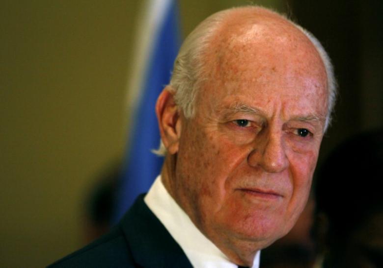 un dismisses rumours that syria envoy has quit