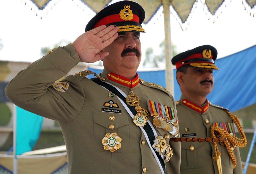 chief of army staff general raheel sharif photo online
