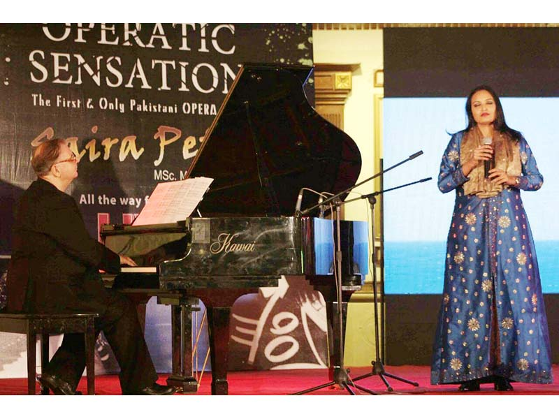 pakistan s first sufi opera singer
