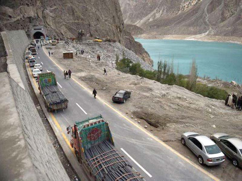 road infrastructure projects under cpec include upgrading and extending road networks and railway tracks photo file