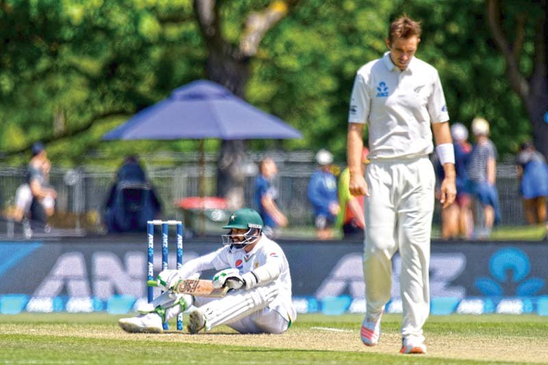 Pakistan's Test batsmen were found out by the moving and bouncing ball in New Zealand, but Misbah hopes that will not be the case in Australia. PHOTO: AFP