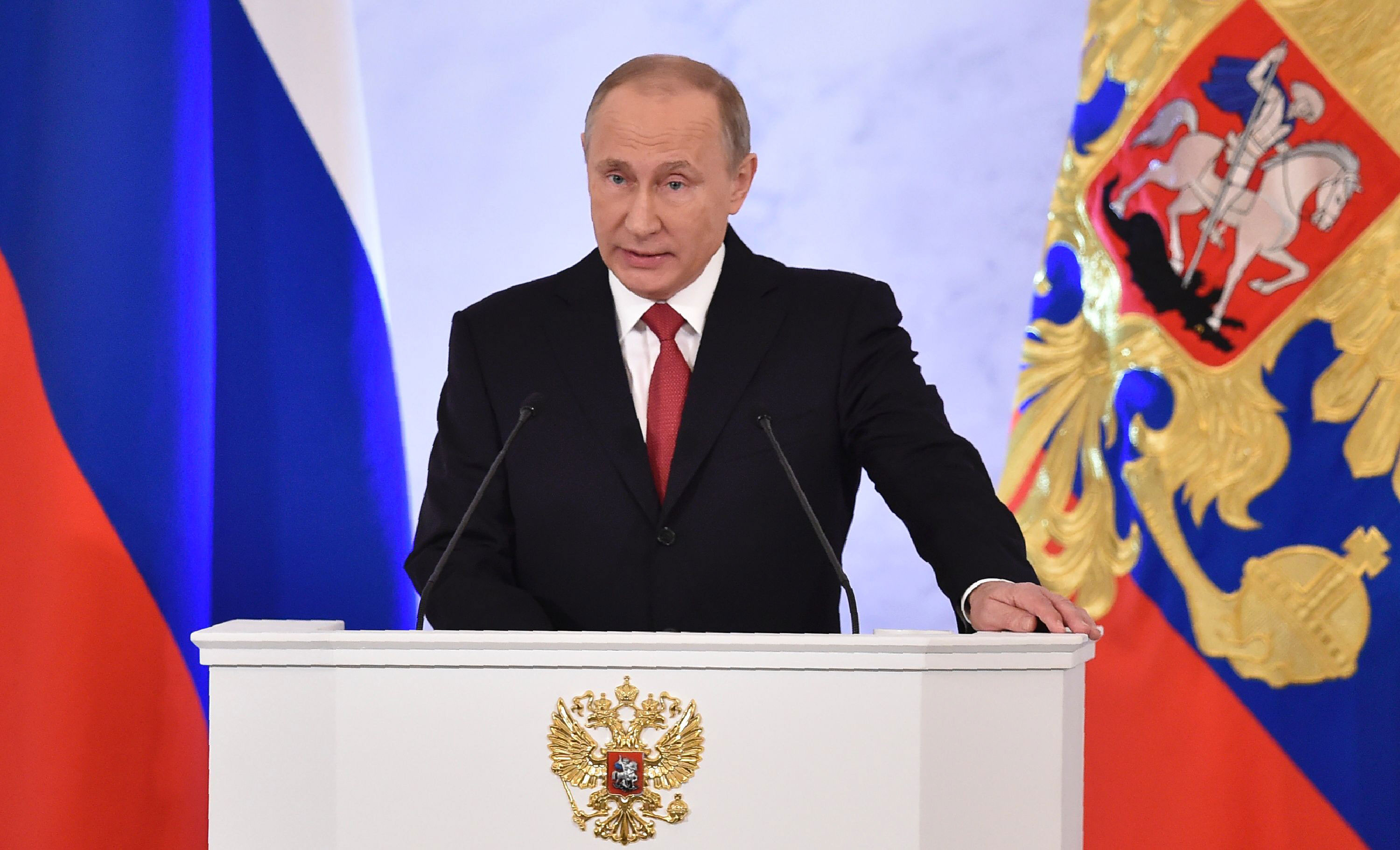 putin says russia not looking for enemies