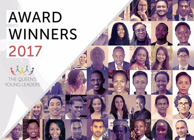pakistani student wins queen s young leaders award