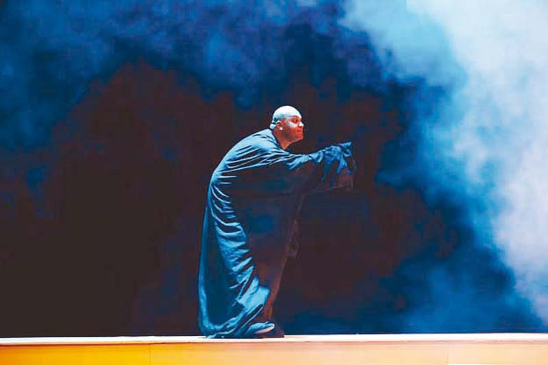 a still from hatim tai which was staged at last year s young directors festival photo publicity