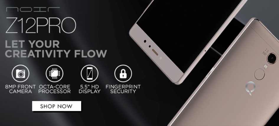smartphone of the year qmobile launches noir z12 pro