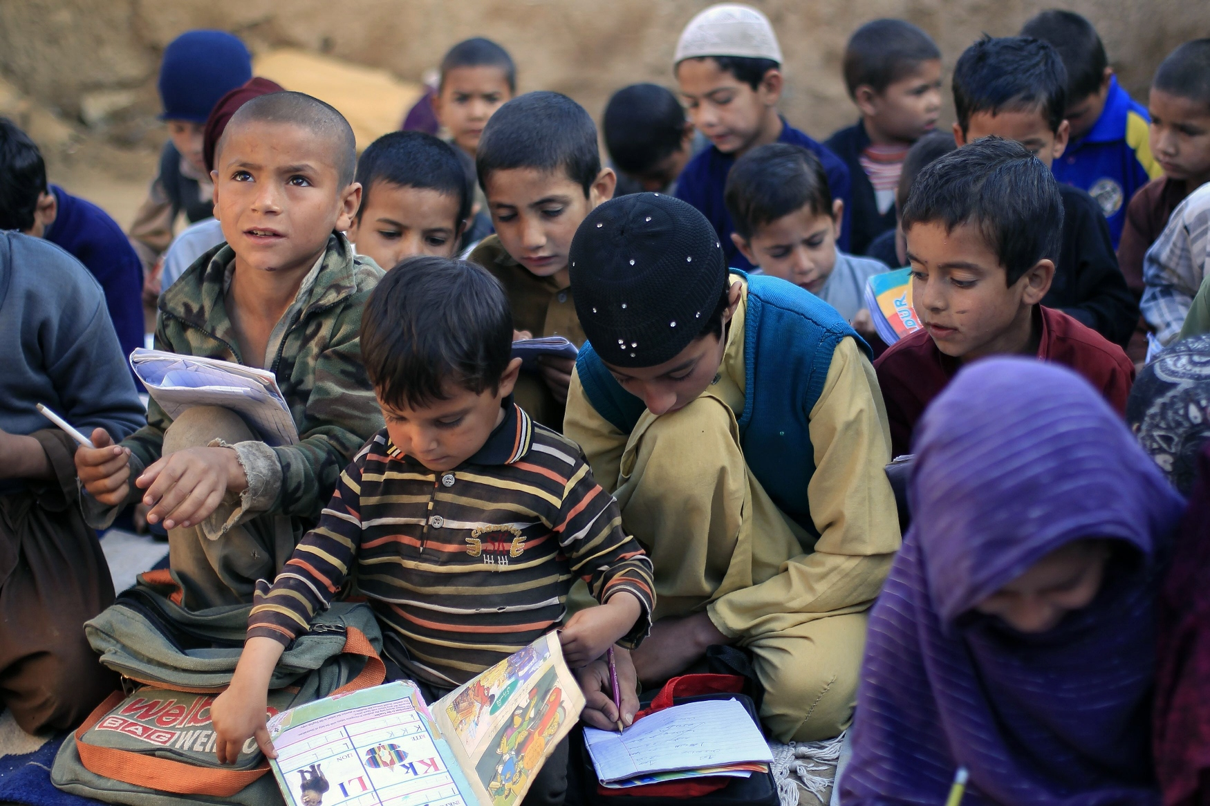 PEF and CDA sign MoU to provide free education to almost 4,500 students. PHOTO: REUTERS