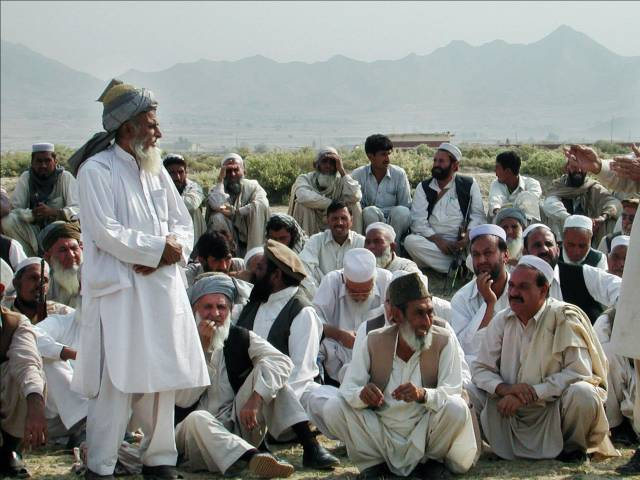 call for referendum grand alliance opposes fata merger with k p