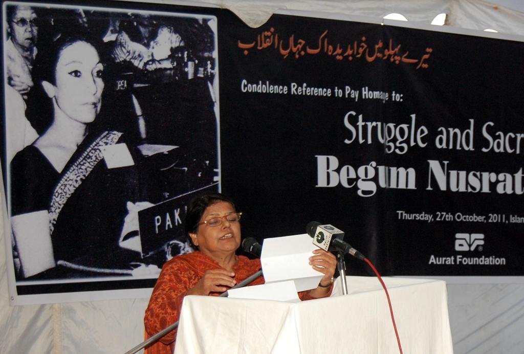 kishwar naheed nominated for top literary award