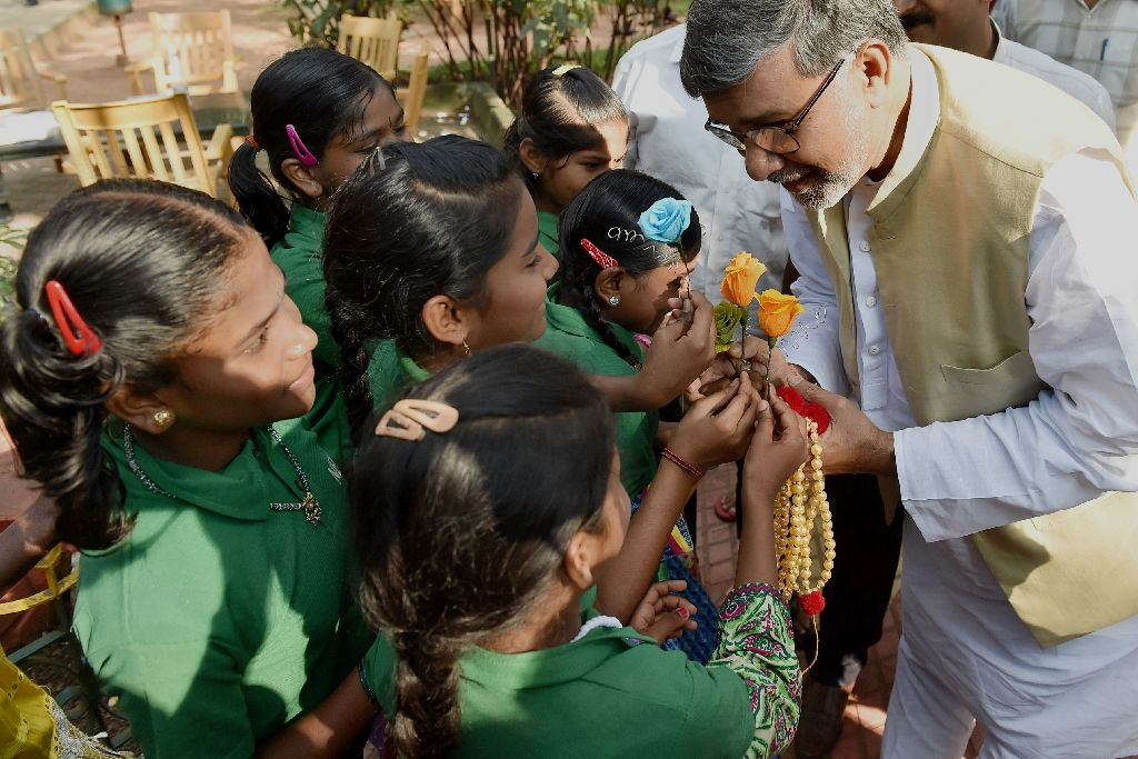 india 039 s children 039 s rights activist kailash satyarthi has prompted calls for government action on drug education for the young photo afp