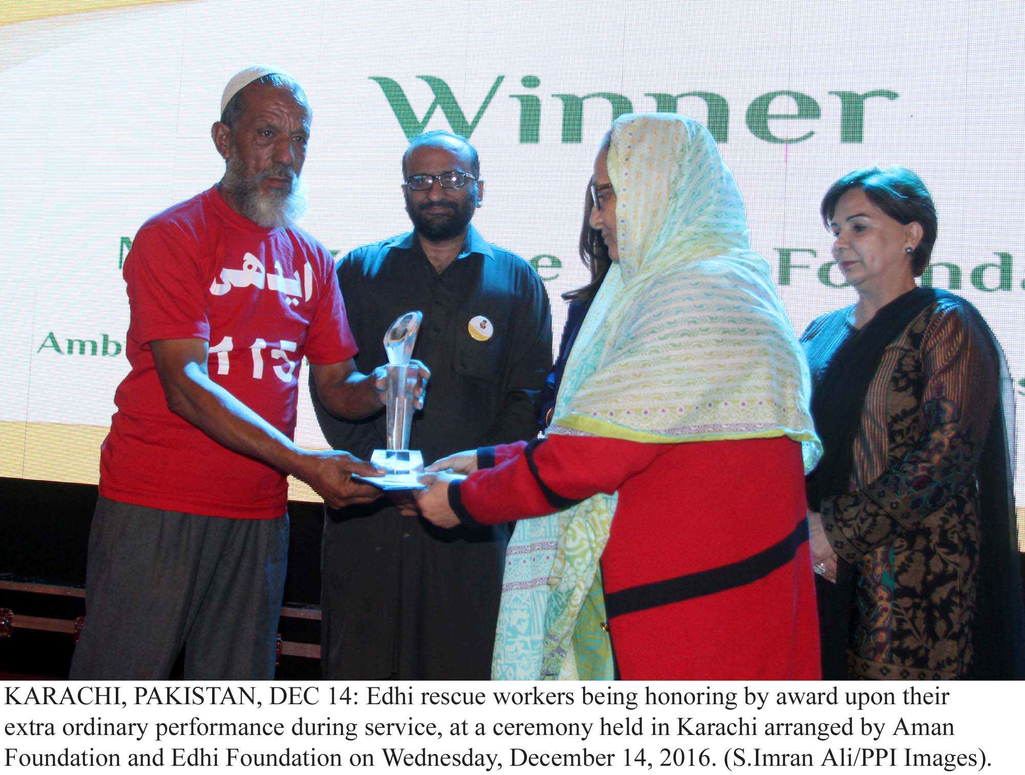 annual edhi awards appreciating the unsung heroes