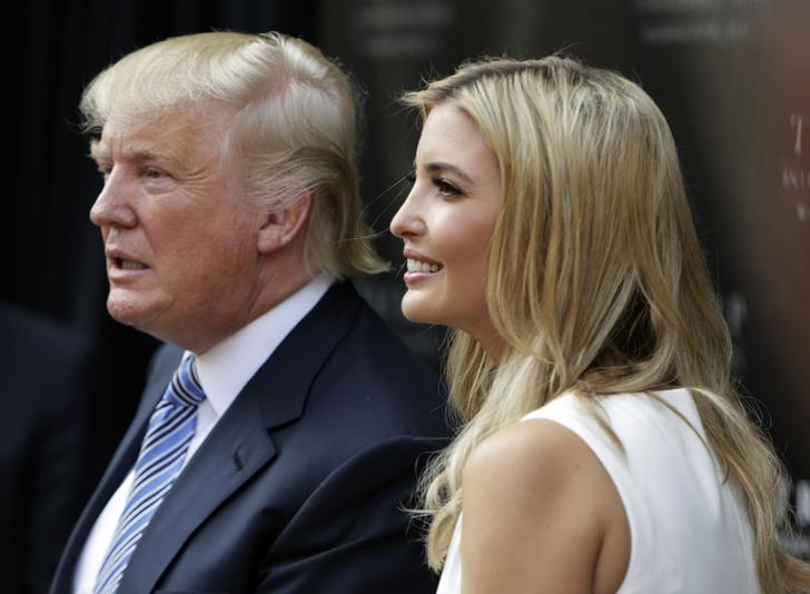 donald trump and his daughter ivanka r attend the ground breaking ceremony of the trump international hotel at the old post office building in washington july 23 2014 the 200 million transformation of the old post office building into a trump hotel is scheduled for completion in 2016 reuters gary cameron united states   tags business politics real estate