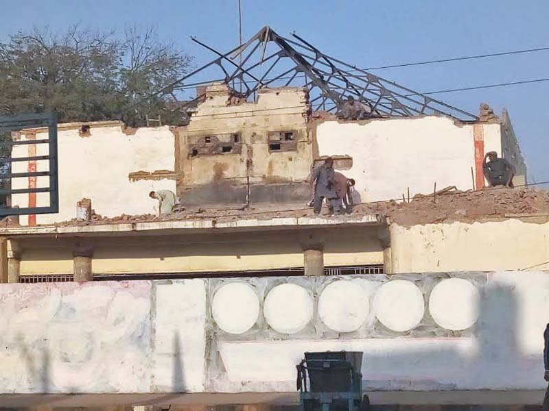 last bastion faisalabad s 60 year old cinema house goes down