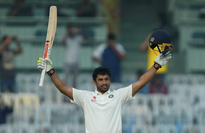 nair s triple ton puts india in command against england