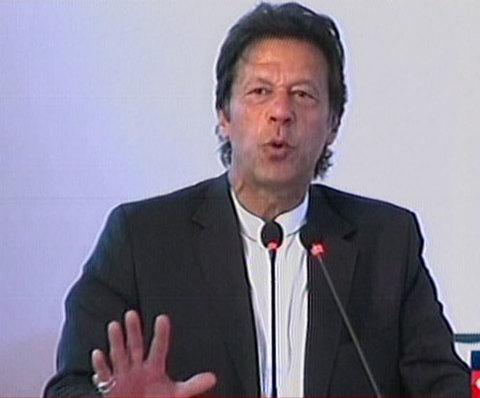 imran performs groundbreaking of shaukat khanum cancer hospital in karachi