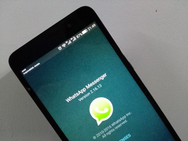 WhatsApp has cut the support for the millions of smartphones using outdated operating systems since the end of 2016 PHOTO: REUTERS