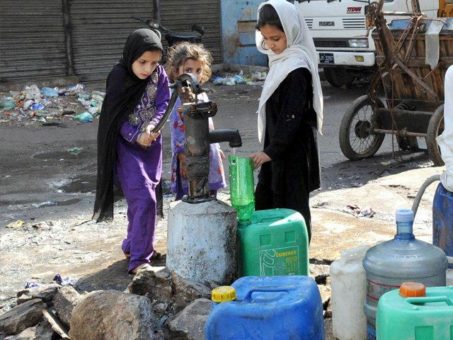 exorbitant amount water price in sukkur to be increased almost twelvefold