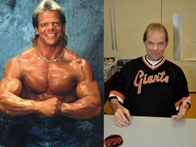 5 legendary wrestlers and how they look now