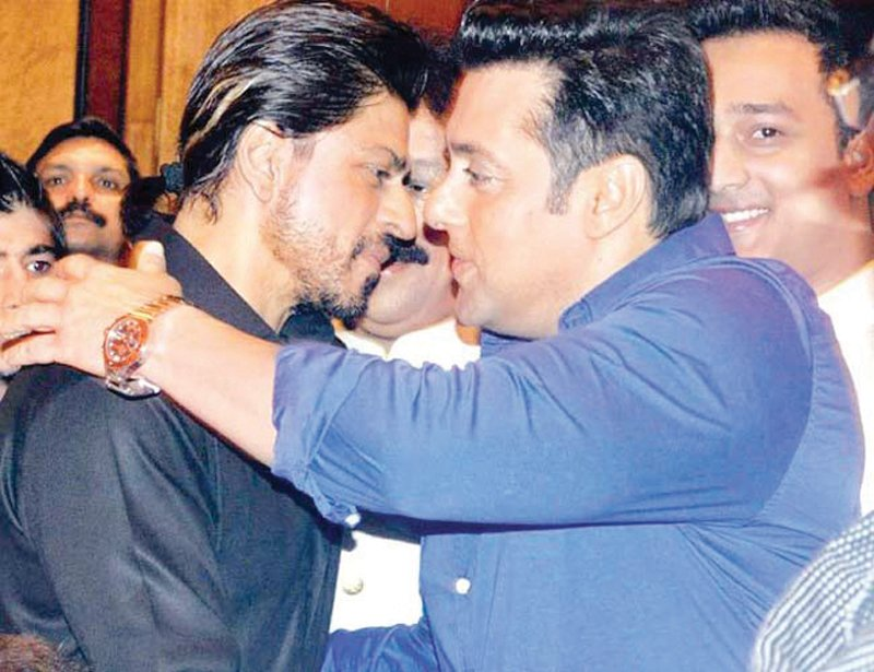 cannot compete with salman khan at the box office srk