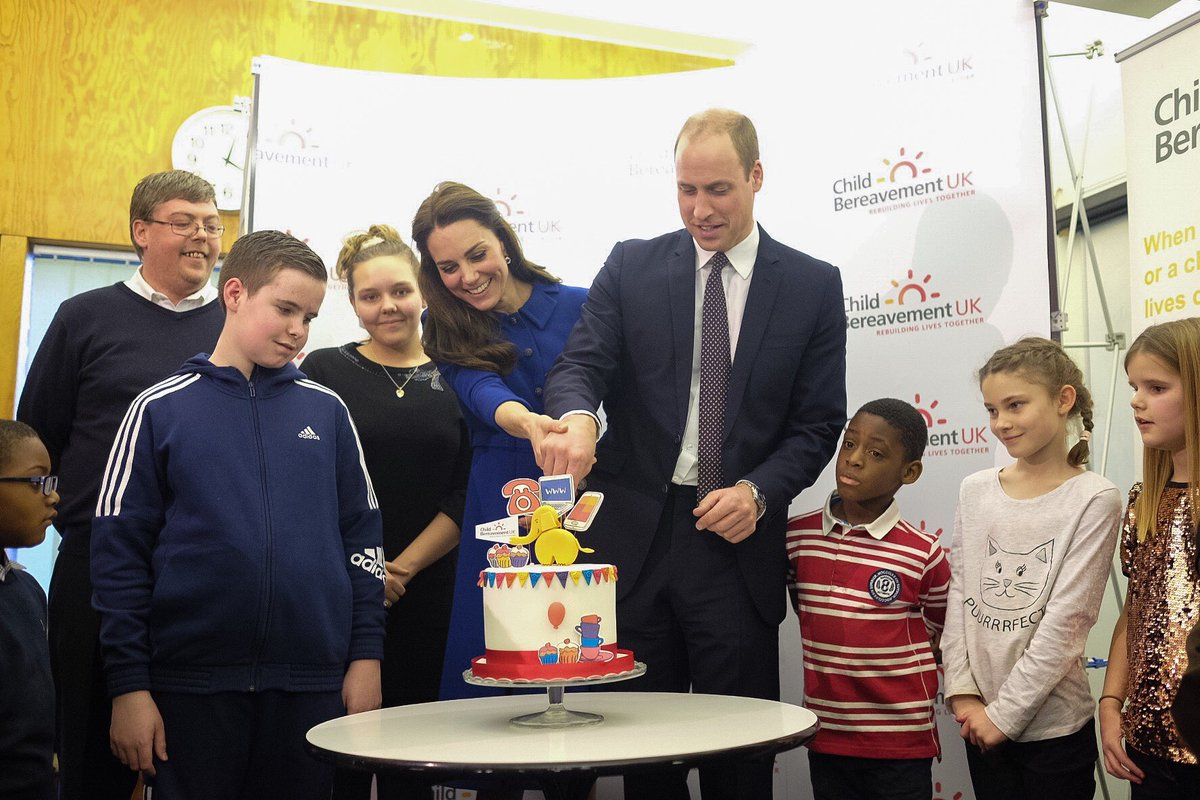 britain s prince william and wife kate visit child bereavement charity