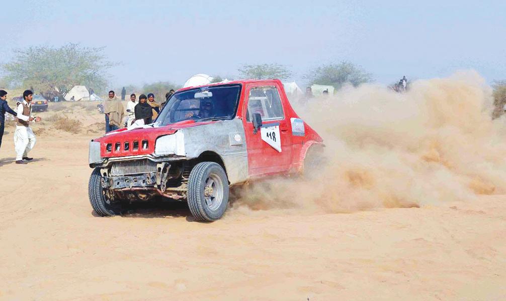 desert race cholistan jeep rally schedule announced