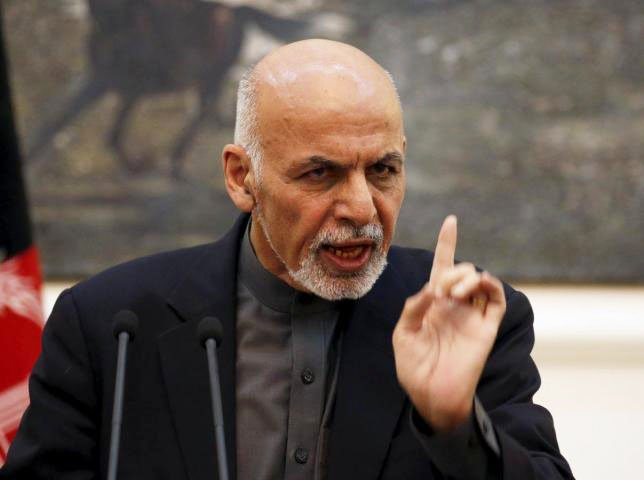 afghan president ashraf ghani photo reuters