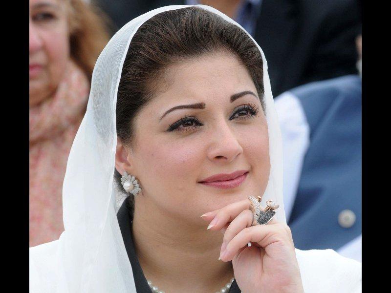 pm 039 s daughter maryam nawaz photo waseem niaz