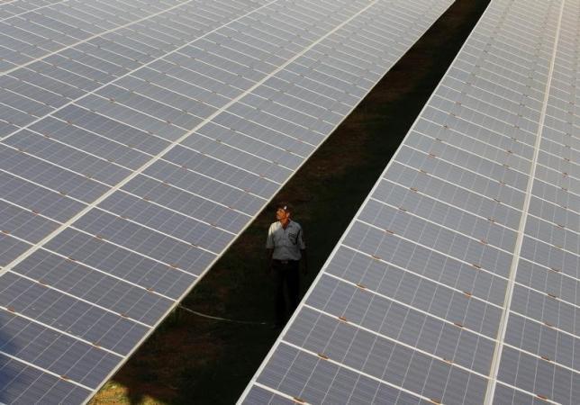 solar panels being installed in 20 schools