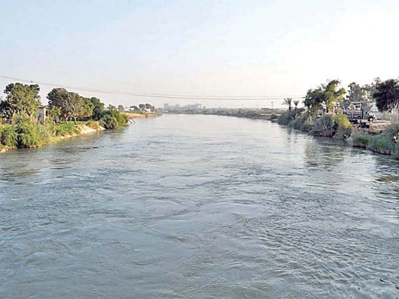 environmental hazard judicial commission inspects toxic water disposal in kotri