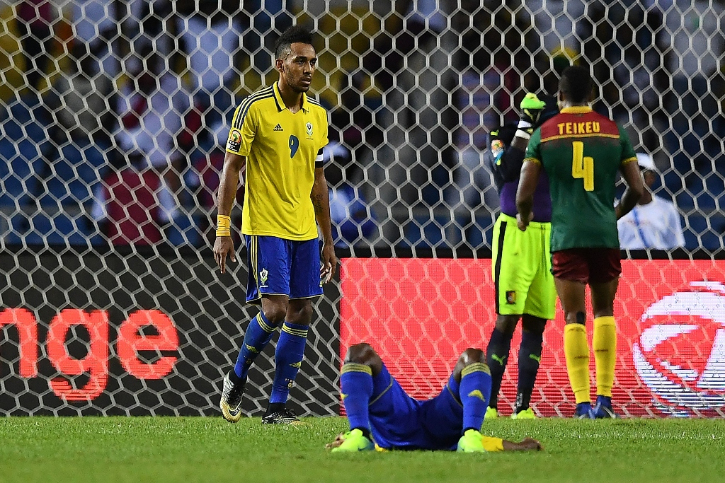 gabon crash out of africa cup of nations