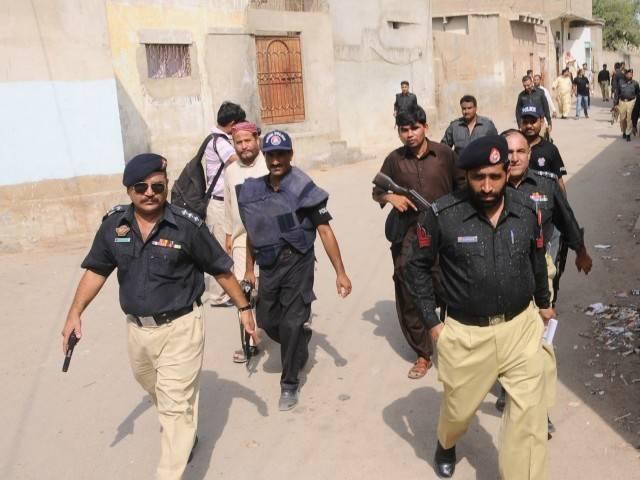 kandhkot police launch operation