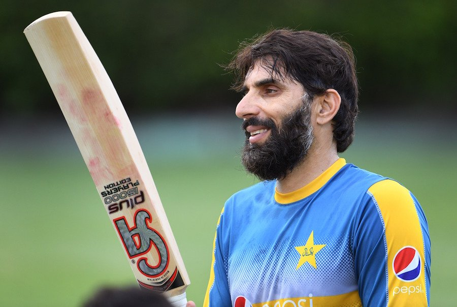 misbah chose to lead in subsequent new zealand australia series photo afp