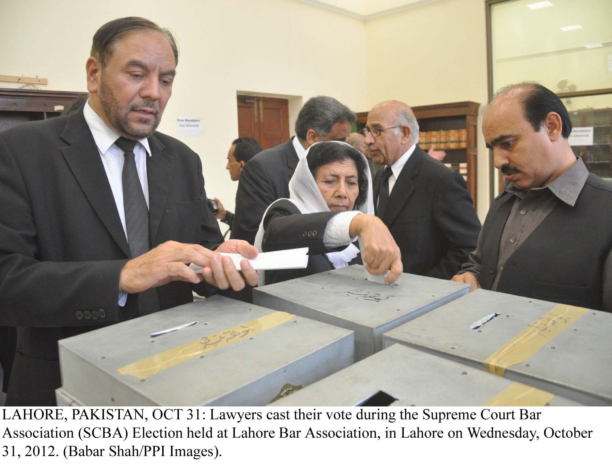 lawyers elections hamid khan s professional group secures top lba slot
