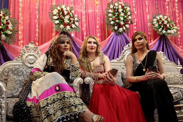 members of the transgender community attend shakeela 039 s party in peshawar pakistan january 22 2017 photo reuters