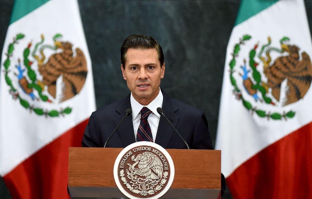 Mexican President Enrique Pena Nieto. PHOTO: AFP