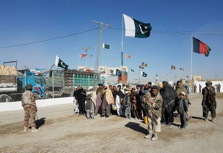 pak afghan border photo afp