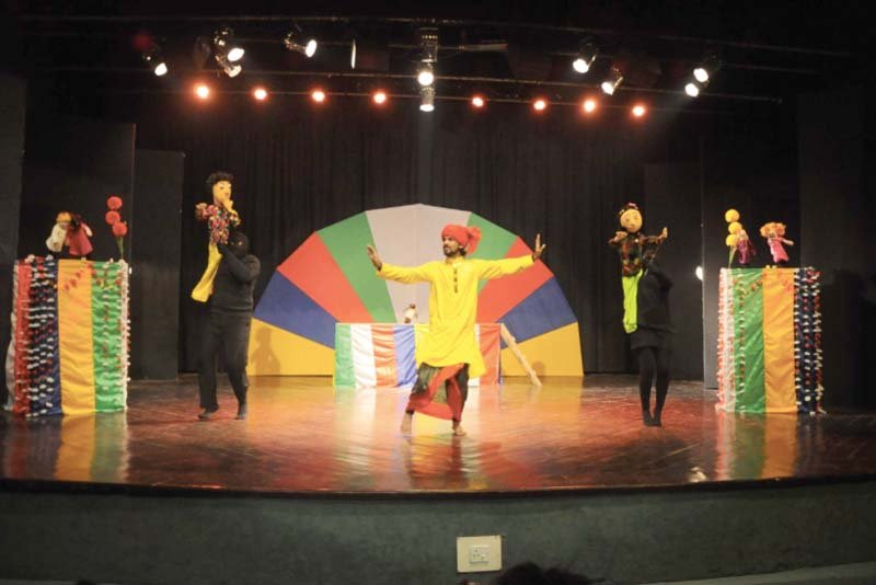 character aplenty puppet show plays with children s heart strings