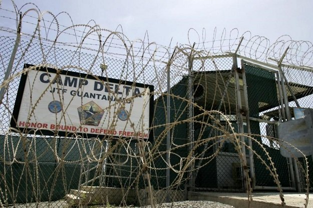 the front gate of camp delta is shown at the guantanamo bay naval station in guantanamo bay cuba september 4 2007 photo reuters