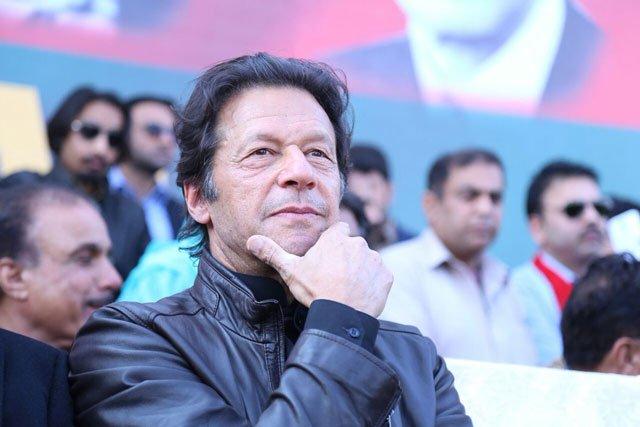pakistan tehreek e insaf chairman imran khan attends party rally in sahiwal on sunday january 29 2017 photo pti