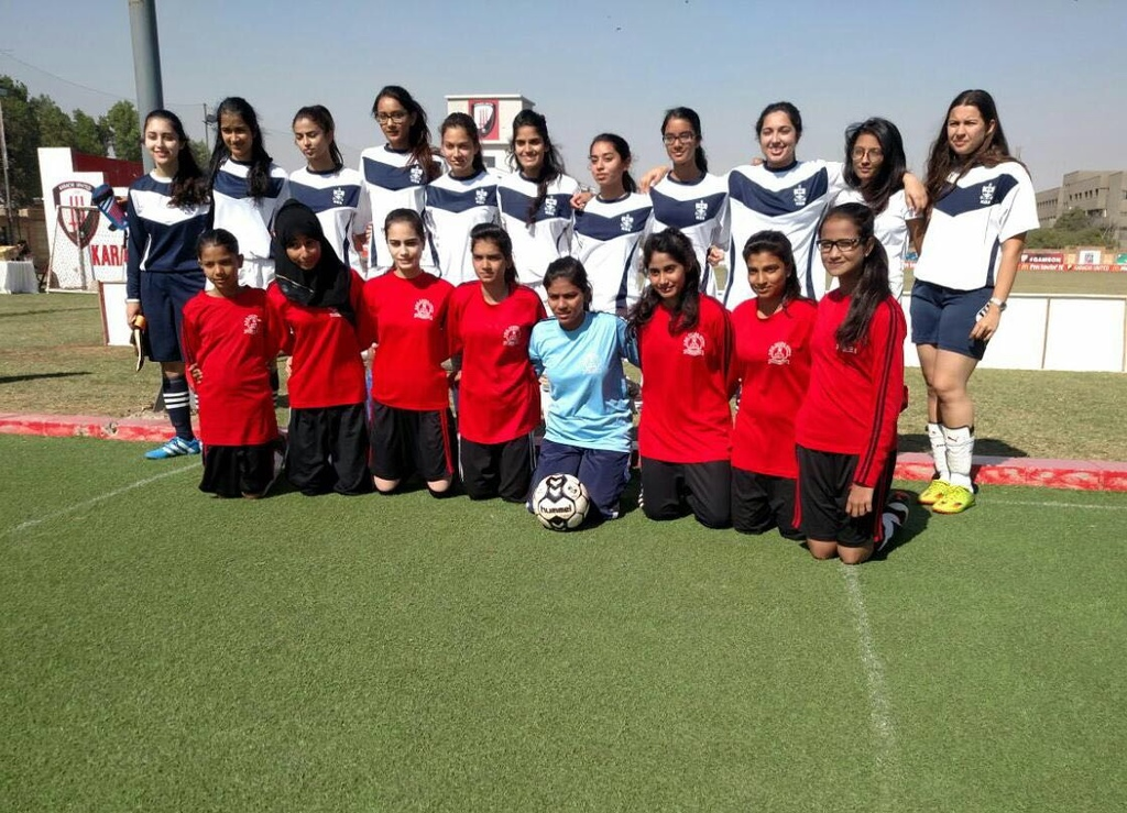 The win completed a dream run for the SMB Fatima Jinnah Government School team, the only government school starring in the competition. PHOTO: PUBLICITY