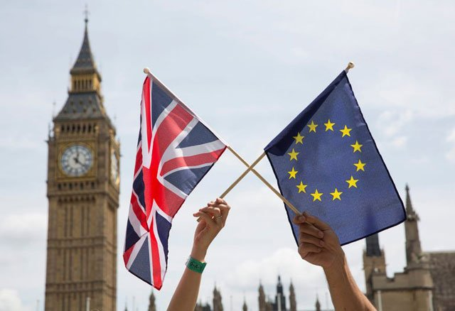britain is set to become the first european union member to leave the bloc following a referendum last year photo afp