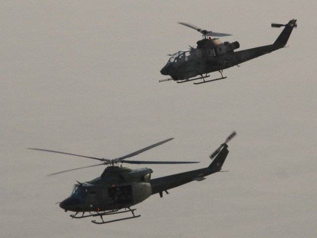 army airlifts supplies to leepa valley