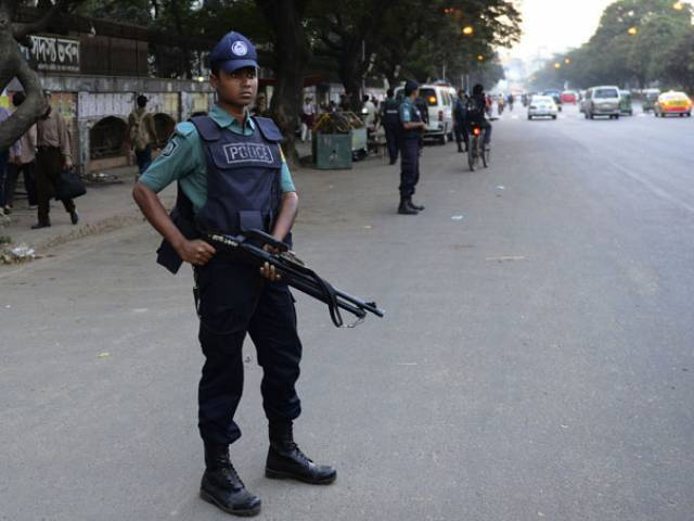abdul hakim shimul was reporting on clashes between two factions of the ruling awami league activists photo afp