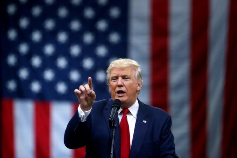 us president donald trump at a campaign event at the greater columbus convention center in columbus ohio august 1 2016 photo reuters