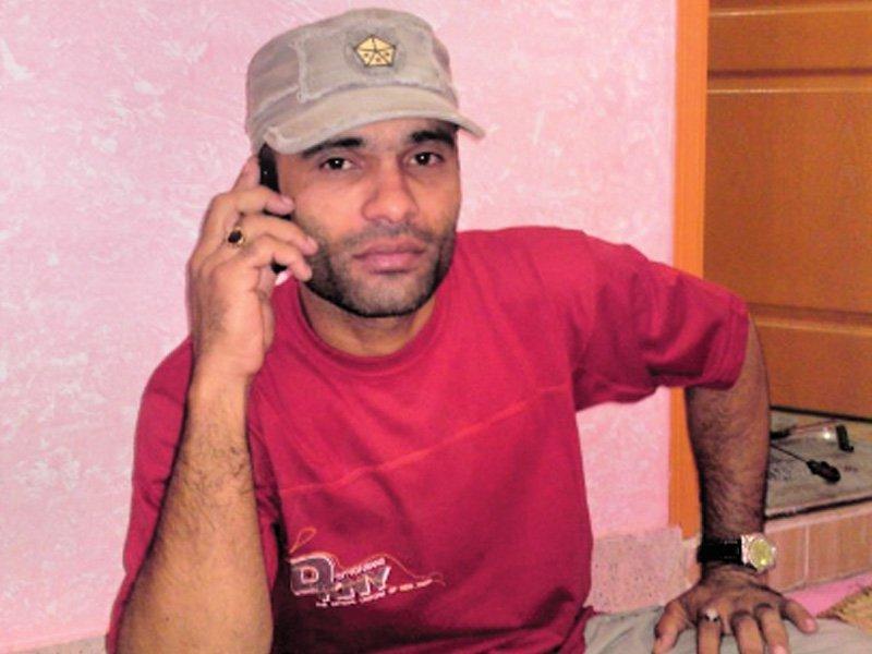 lyari gangster noor muhammad alias baba ladla photo file