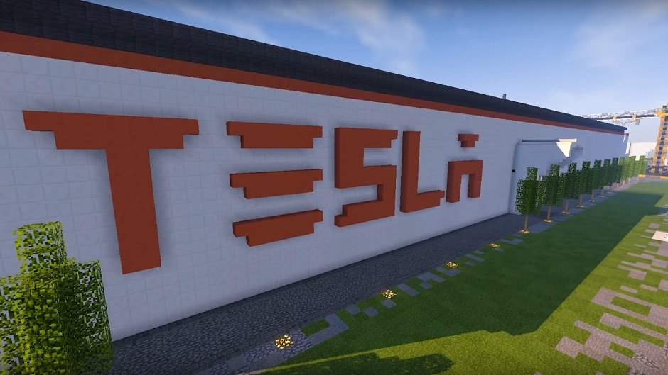 lithuania builds dream tesla factory with minecraft