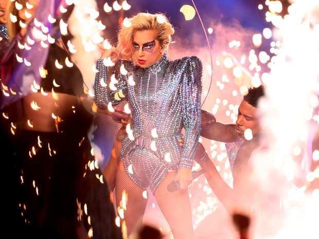 lady gaga dazzles super bowl with message of inclusion