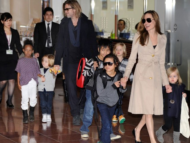 barngelina with kids photo ibtimes